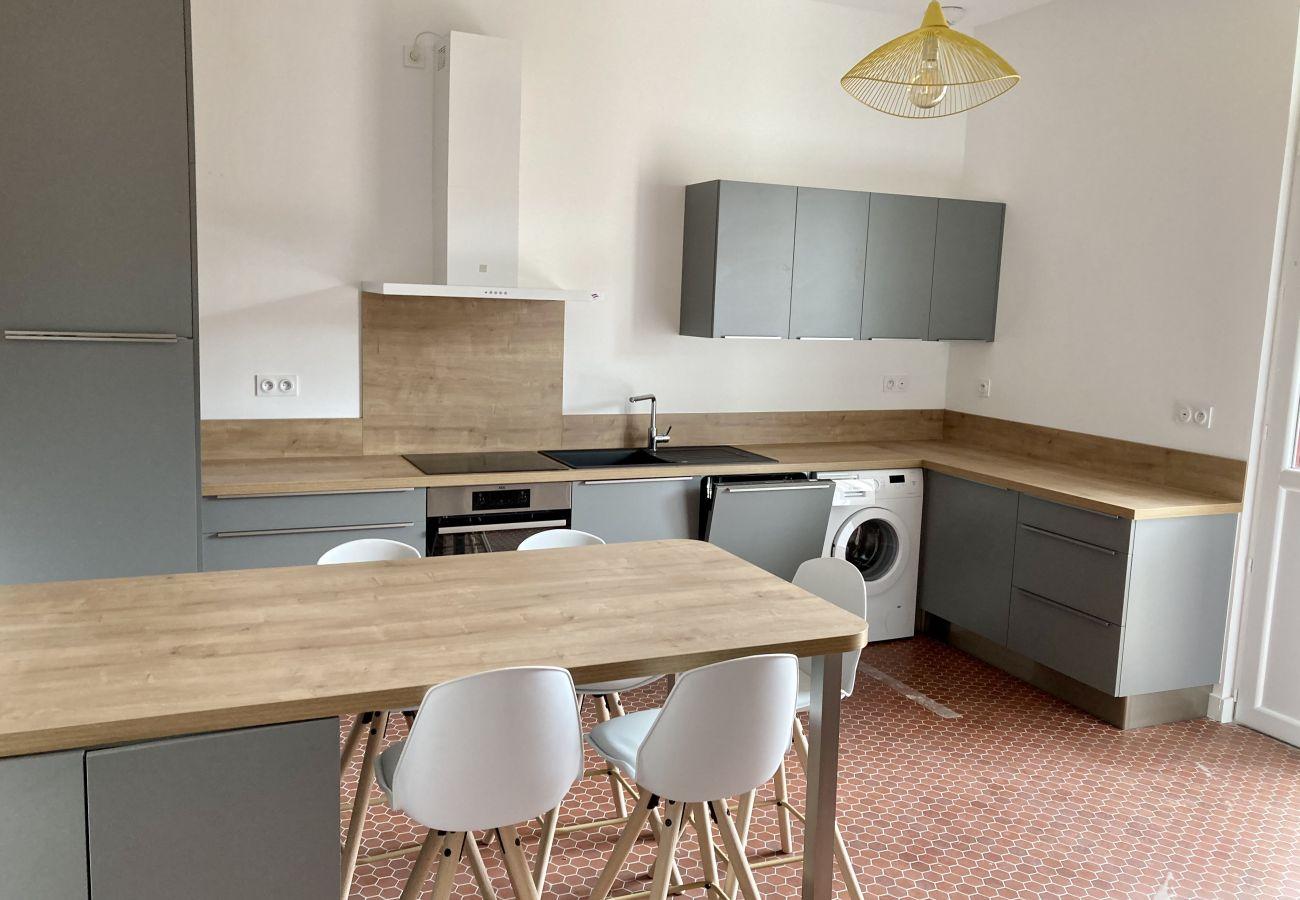 Villa à Lacanau - 7 AV EUROPE VILLA ROSE N°1 - 41101